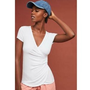 Anthropologie White Maeve Top